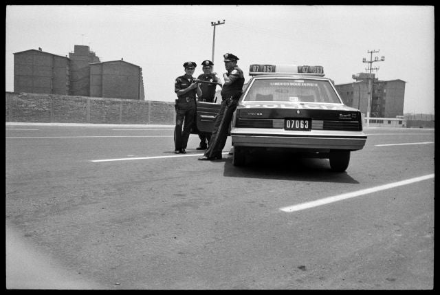 Borje Tobiasson_Mexico City Policemen