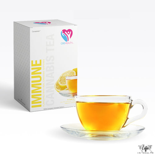 CBD Health® Tea-LifeInHealth-Lemon-Life In Health-CBD Edibles