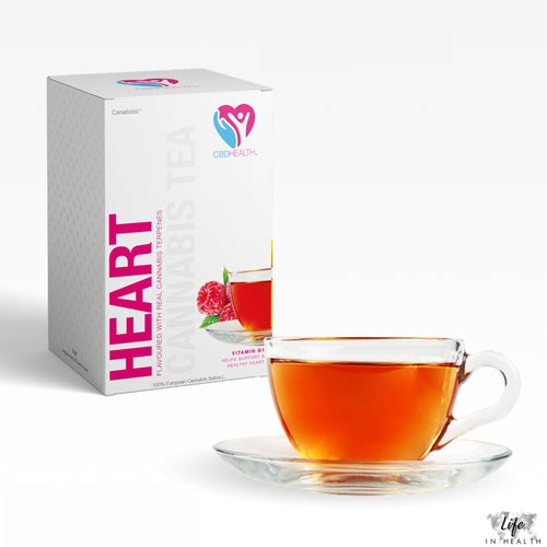 CBD Health® Tea-LifeInHealth-Raspberry-Life In Health-CBD Edibles