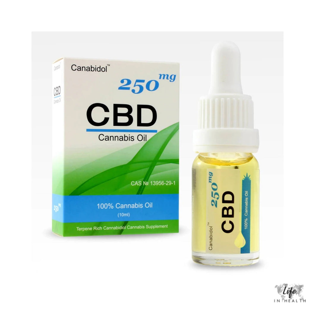 Canabidol™ Oil-LifeInHealth-250mg-LifeInHealth