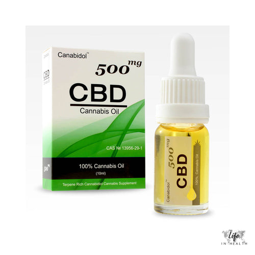 Canabidol™ Oil-LifeInHealth-500mg-LifeInHealth