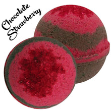 Load image into Gallery viewer, MBS-CBD-Bath-Bombs-Chocolate-Strawberry-Life In Health
