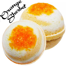 Load image into Gallery viewer, MBS-CBD-Bath-Bombs-Orange-Sherbert-Life In Health