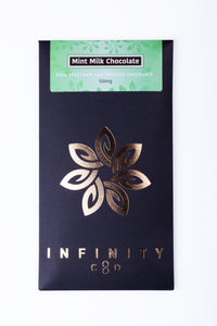 Life In Health-CBD Edibles-Infinity CBD-Gourmet Chocolate-CBD Chocolate-Mint