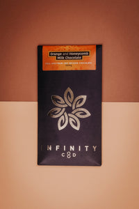 Infinity CBD Orange and Honeycomb Gourmet Chocolate 120mg