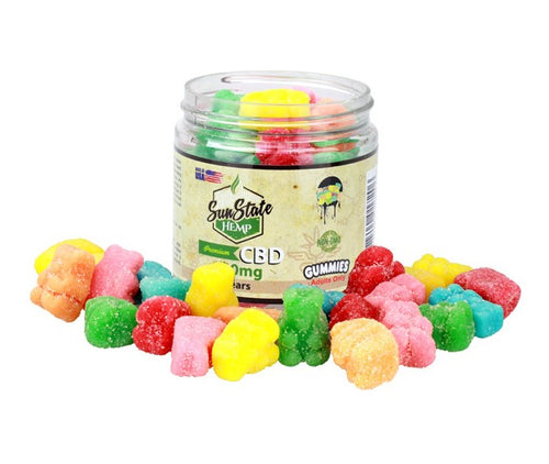 Sunstate-Hemp-CBD-Gummies-Bears-500mg-Life In Health-CBD Edibles