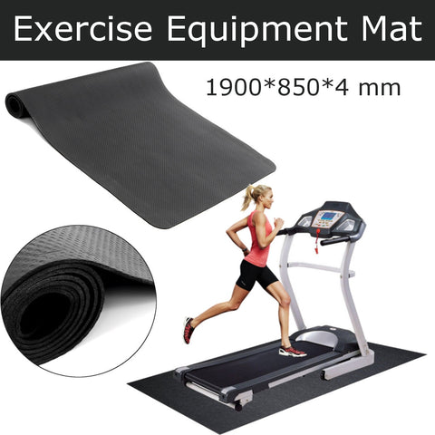 190x85cm NBR Exercise Mat Gym Fitness Equipment For Treadmill Bike Protect Floor Mat Shock Absorbing Pad Black FREE SHIPPING BE CERTAIN TO SELECT OPTION SHIPS FROM UNITED STATES DELIVERY IN 2 WEEKS
