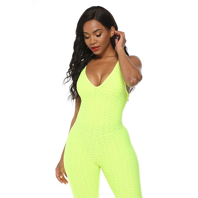 3D Stereo Fashion Hot Women Sport 7 Colors Gym Halter Sexy Tight Bodysuit Jumpsuit EXCELLENT QUALITY SHIPS FROM CHINA PLEASE ALLOW 4 TO 5 WEEKS FOR DELIVERY