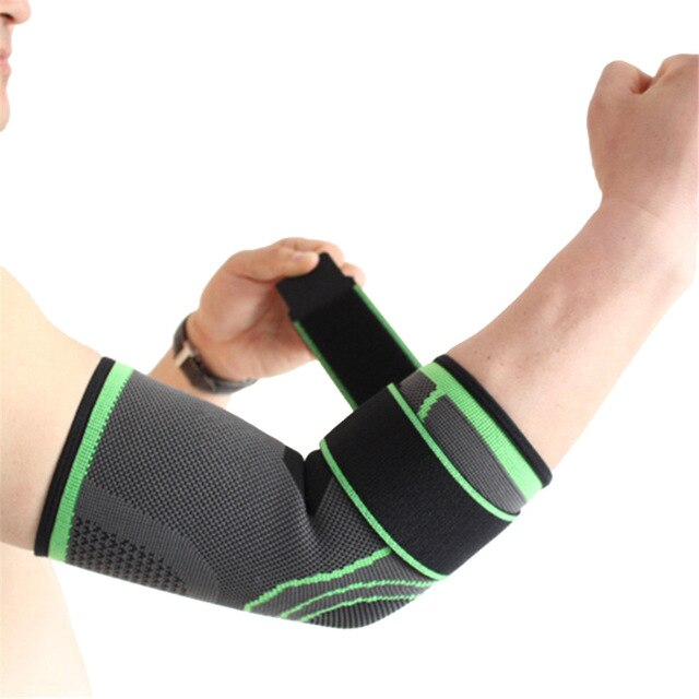 BE CERTAIN TO SELECT SHIP FROM USA EST DELIVERY 4 TO 10 DAYS Elastic bandage tennis elbow support protector basketball running volleyball sports safety