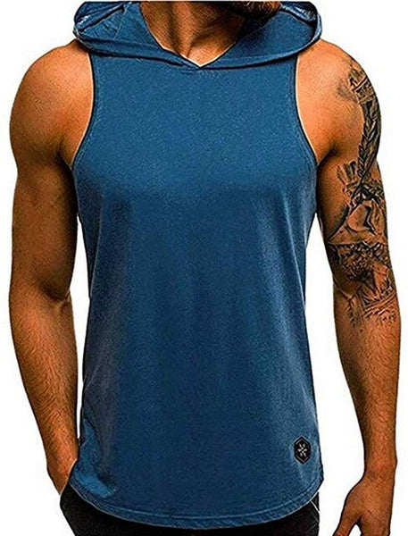 2020 Mens Sleeveless Tanks Top Muscle Clothe Hoodies EXCELLENT QUALITY FREE SHIPPING SHIPS FROM CHINA ALLOW 4 TO 5 WEEKS FOR DELIVERY