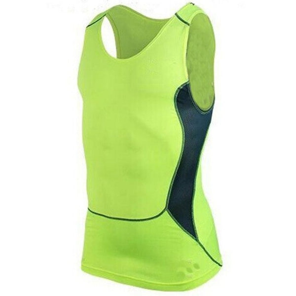 BE CERTAIN TO SELECT SHIP FROM USA EST DELIVERY 4 TO 6 DAYS Men's Quick Dry Compression GYM Sports Sleeveless Drop Top Layer Base Breathable Shipping Fitness Shirts Tight