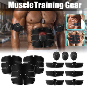 12 PCS Set Abs Abdominal Muscle Simulator Electric Massage Training Exerciser Toning Belt Waist Arm Leg  Body Fitness Trainer FREE SHIPPING  BE SURE TO SELECT SHIP FROM (UNITED STATES) DELIVERY IN 7 TO 10 DAYS