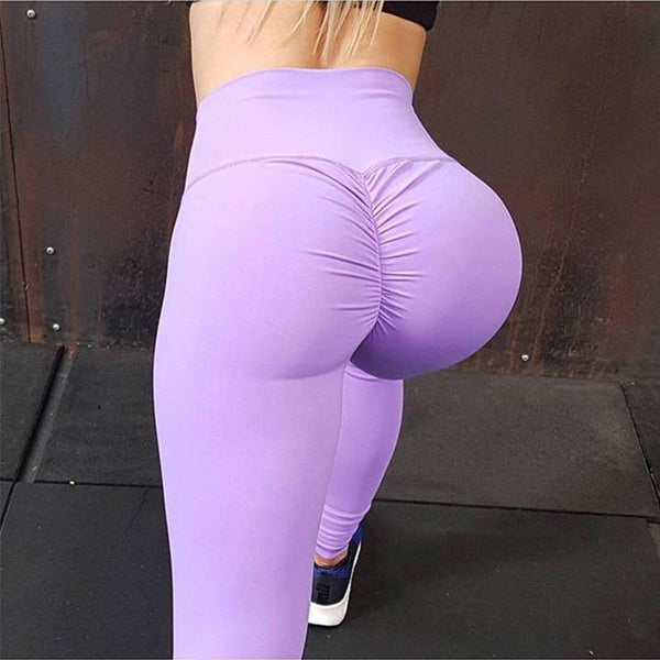 High Waisted Bottom Scrunch Leggings Push Up Butt Lift Trousers Women yoga pants BE CERTAIN TO SELECT SHIP FROM UNITED STATES DELIVERY 4 TO 13 DAYS VIA USPS