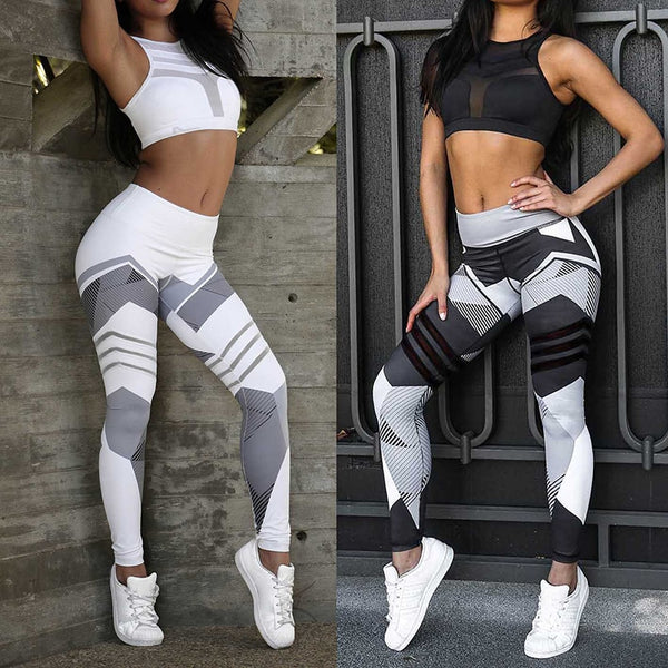 2019 Sexy Fitness Yoga Sport Pants Push Up Women Gym Running Leggings  Tights High Waist print Pants BE CERTAIN TO SELECT SHIP FROM THE UNITED STATES DELIVERY 4 T0 13 DAYS VIA USPS