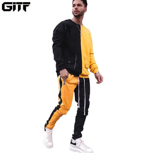 Men's Tracksuit Gym Fitness Sports Suit EXCELLENT QUALITY SHIPS FROM CHINA PLEASE ALLOW  4 TO 5 WEEKS FOR DELIVERY