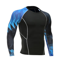 Long-sleeved men's compression sportswear FREE SHIPPING EXCELLENT QUALITY PRODUCT SHIPS FROM CHINA PLEASE ALLOW 4 T0 5 WEEKS FOR DELIVERY