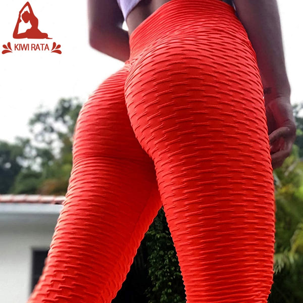 Women's High Waist Tummy Control Yoga Pants Butt Lift Textured Workout Tights BE CERTAIN TO SELECT SHIP FROM THE UNITED STATES DELIVERY 4 TO 13 DAYS VIA USPS
