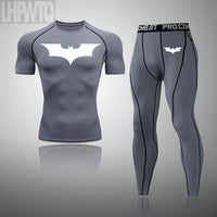 Batman T Shirts Summer Slim Sports  jogging Suits Clothes tracksuit t shirt +pants FREE SHIPPING EXCELLENT QUALITY PRODCUT SHIPS FROM CHINA PLEASE ALLOW 4 T0 5 WEEKS FOR DELIVERY