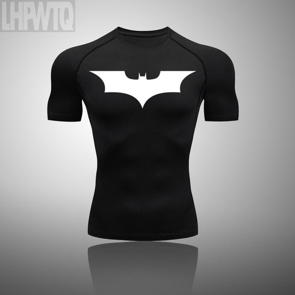 Batman T Shirts Men's Sportswear jogging Suits Clothes tracksuit t shirt +pants FREE SHIPPING EXCELLENT QUALITY PRODUCT SHIPS FROM CHINA PLEASE ALLOW 4 TP 5 WEEKS FOR DELIVERY