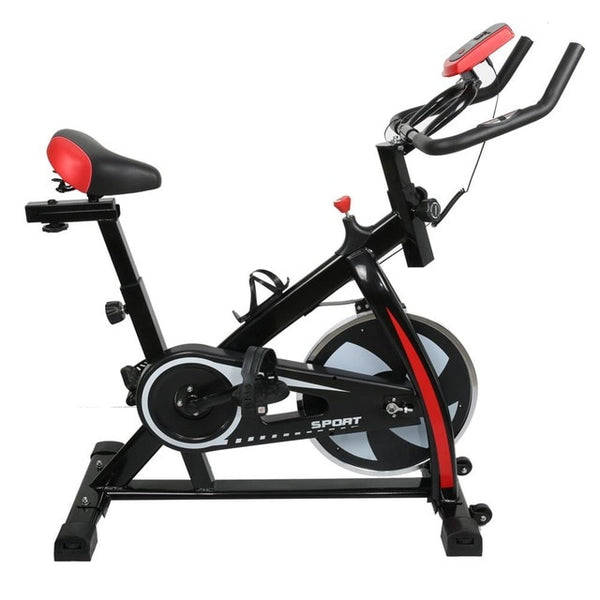 Indoor Cycle Bike Stationary Cycling Exercise Home Gym Bicycle Equipment with LCD Display EXCELLEWNT QUALITY FREE SHIPPING ALLOW 2 WEEKS FOR DELIVERY