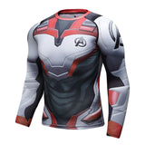 Compressed Long Sleeve Running Shirt Men's Marvel Superhero  MMA FREE SHIPPING EXCELLENT QUALITY SHIPS FROM CHINA PLEASE ALLOW 4 T0 5 WEEKS FOR DELIVERY