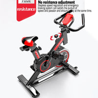 Exercise bike home ultra-quiet indoor exercise bike sports equipment pedal bicycle spinning bike fitness equipment SHIPS USPS DELIVERY 5 TO 10 DAYS