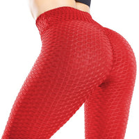 Women's Butt Lifting Yoga Pants High Waist Tummy Control Push Up Textured Booty Tights BE CERTAIN TO SELECT SHIP FROM UNITED STATES DELIVERY IN 4 TO 13 DAYS VIA USPS