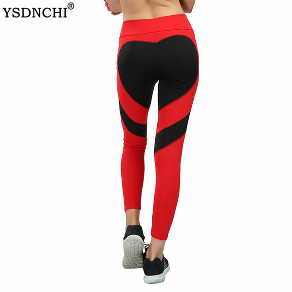 Love Printed Legging Exercise  Red Black White Fitness Pants EXCELLENT QUALITY SHIPS FROM CHINA PLEASE ALLOW 4 TO 5 WEEKS FOR DELIVERY