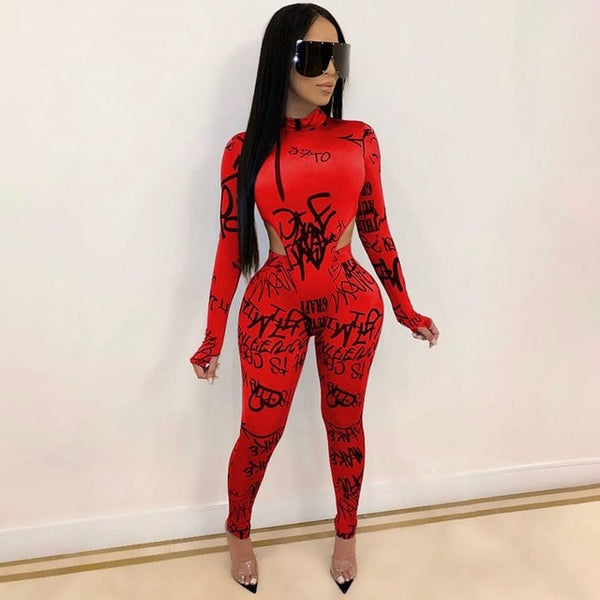 Echoine Letters Printed Women Two Piece Set Long-Sleeve  Tops Suit Fitness Matching Sets EXCELLENT QUALITY FREE SHIPPING BE CERTAIN TO SELECT SHIP FROM UNITED STATES SHIPS VIA USPS 4 TO 13 DAYS FOR DELIVERY