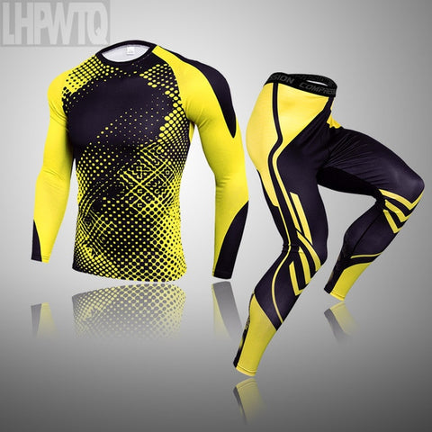 Top quality new clothing compression sets quick drying  men Sportswear FREE SHIPPING EXCELLENT QUALITY PRODUCT SHIPS FROM CHINA PLEASE ALLOW 4 TO 5 WEEKS FOR DELIVERY