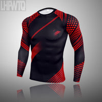 New Top quality clothing compression men sets quick drying thermal men Sportswear FREE SHIPPING PRODUCT EXCELLENT QUALITY PRODUCT SHIPS FROM CHIINA ALLOW 4 TO 5  WEEKS FOR DELIVERY