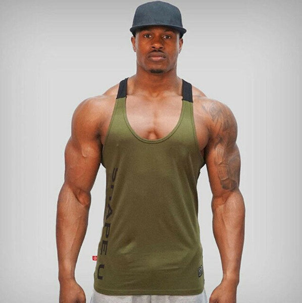 Men Bodybuilding Top Muscle Stringer EXCELLENT QUALITY FREE SHIPPING SHIPS FROM CHINA ALLOW 4 TO 5 WEEKS FOR DELIVERY