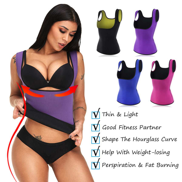 Sports Fitness  Body Exercise Shapers  Neoprene  Vests Slimming Women S-2XL EXCELLENT QUALITY FREE SHIPPING SHIPS FROM CHINA ALLOW 4 TO 5 WEEKS FOR DELIVERY