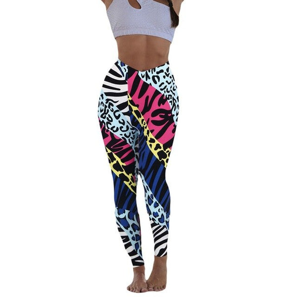Women's pants Leggings Multicolor print Yoga Pants EXCELLENT QUALITY FREE SHIPPING BE CERTAIN TO SELECT SHIPS FROM UNITED STATES VIA USPS ALLOW 4 TO 13 DAYS FOR DELIVERY