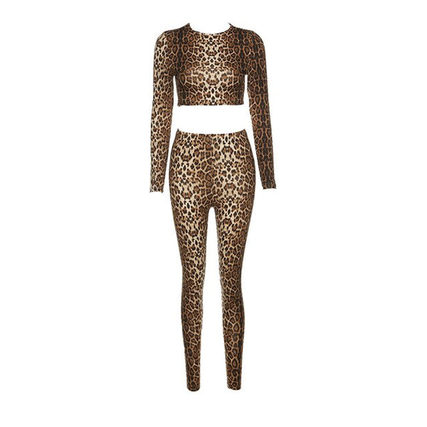 2020 Fashion Women´s Seamless Leopard Print Sport 2-piece Set EXCELLENT QUALITY FREE SHIPPING SHIPS FROM CHINA ALLOW 4 TO 5 WEEKS FOR DELIVERY