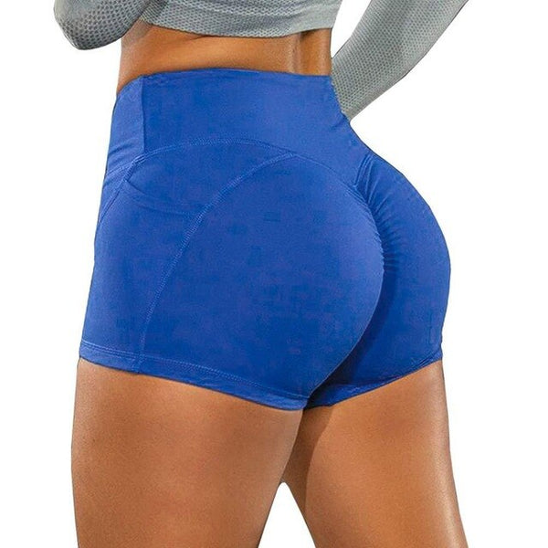 Women's High Waist Pocket Yoga Shorts Seamless  Push Up Hip-Lifting Workout Shorts EXCELLENT QUALITY SUPER SEXY FREE SHIPPING SHIPS FORM CHINA ALLOW 4 TO 5 WEEKS FOR DELIVERY