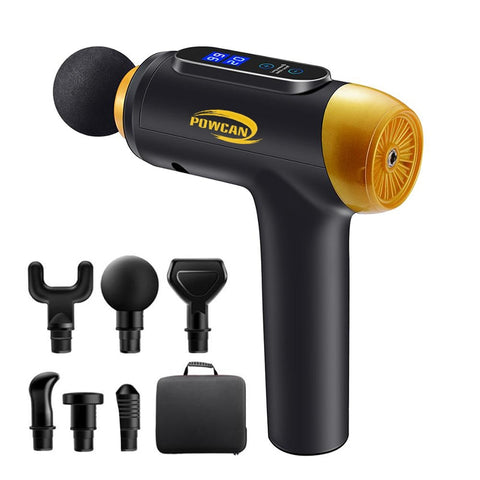 Massage Gun Muscle Electric Massager Fitness Equipment Noise Reduction Design FREE SHIPPING BE CERTAIN TO SELECT OPTIONS SHIP FROM UNITED STATES AND SELECT US PLUG FOR DEVICE DELIVERY VIA USPS IN 4 TO 13 DAYS