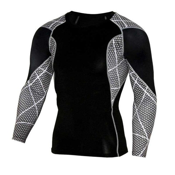 Men Pro Quick Dry Workout Top Tee Compress Fitness Clothes EXCELLENT QUALITY FREE SHIPPING SHIPS FROM CHINA ALLOW 4 TO 5 WEEKS FOR DELIVERY