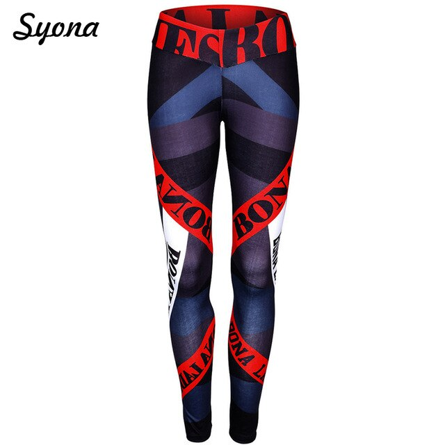 Fitness Stretch Leggings Adventure Time Work Out Letter Print Exercise Clothes High Waist EXCELLENT QUALIT FREE SHIPPING SHIPS FROM CHINA ALLOW 4 TO 5 WEEKS FOR DELIVERY