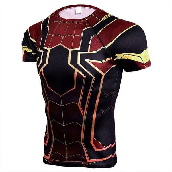 Black Panther Punisher 3D  Sport Men Compression Top FREE SHIPPING EXCELLENT QUALITY PRODUCT SHIPS FROM CHINA PLEASE ALLOW 4 TO 5 WEEKS FOIR DELIVERY