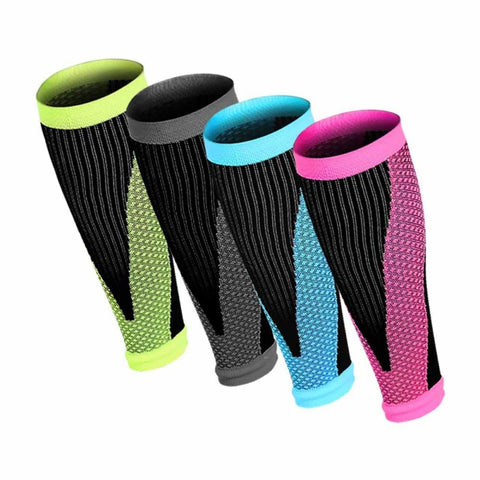 BE CERTAIN TO SELECT SHIPS FROM USA EST DELIVERY 4 TO 10 DAYS 1 pair Sports Safety Running Cycling Compression Sleeves Calf Leg Shin Splints Breathable Legwarmmers Sports Protection
