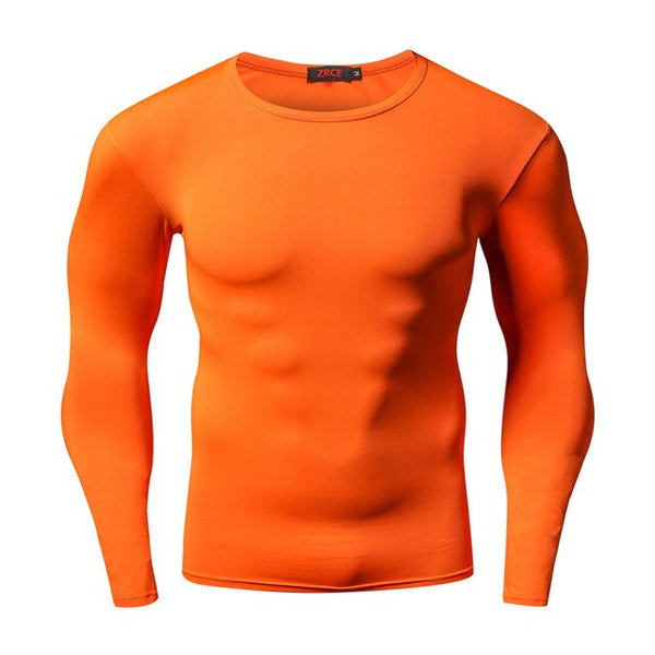 Men's Long Sleeved Body-building Quick Drying High Elastic Tight Clothes EXCELLENT QUALITY FREE SHIPPING SHIPS FROM CHINA ALLOW 4 TO 5 WEEKS FOR DELIVERY