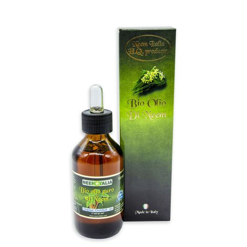 Olio di Neem PURO 100 ml - Biologico