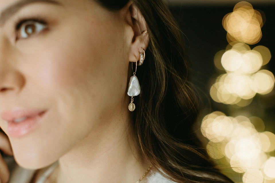 Uncvrd Jewelry - Boucles d'oreilles Perles Guadalupe