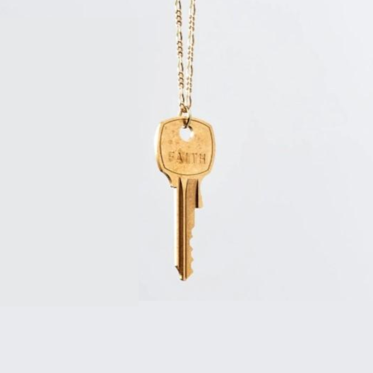The Giving Keys - Collier Florence - Clé Classique