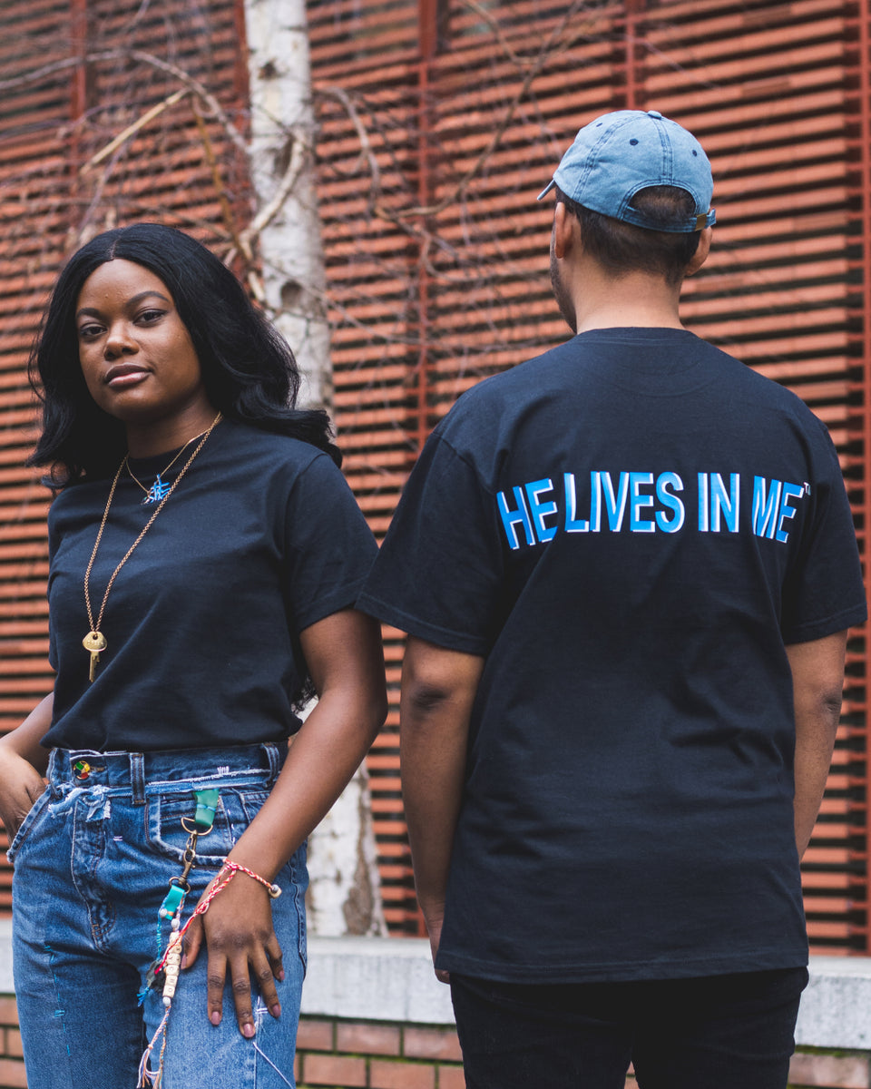 Christlivesinme - He lives in me - T-shirt