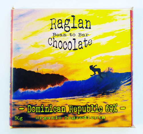 Raglan Bean to Bar Chocolate, Dominican Repuplic 69%