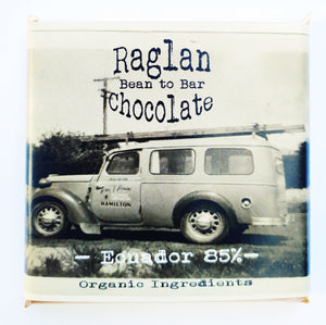 Raglan Bean to Bar Chocolate, Ecuador 85%