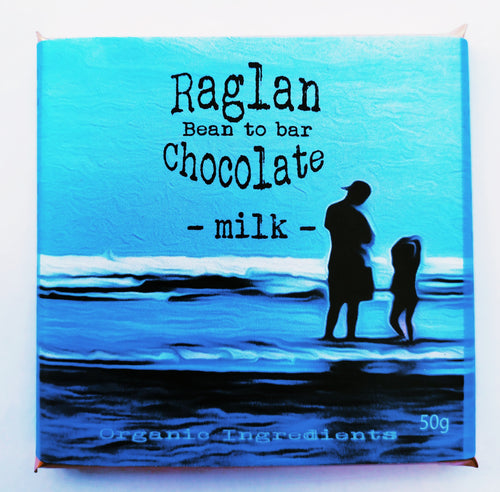 Raglan Bean to Bar Chocolate, Milk Chocolate