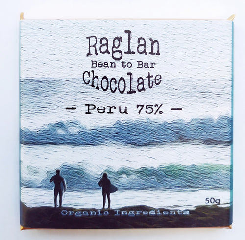 Raglan Bean to Bar Chocolate, Peru 75%